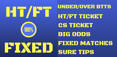 HT/FT Fixed Matches 100% - Paid Android app | AppBrain