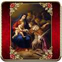 Virgin Mary Red theme icon