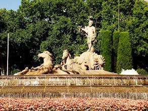 Photo: #006-La fontaine Neptune sur le Paseo Prado