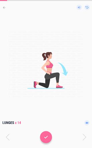 Women Workout at Home - Female Fitness 1.1.8 screenshots 12
