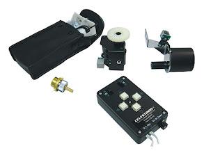 Photo: Motor para o eixo RA (ascenção reta) e para o eixo Dec (declinação)