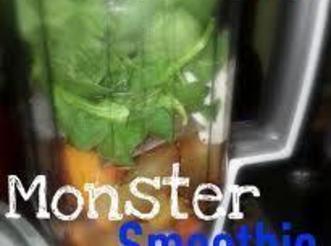 Basic Green Monster Smoothie Recipe