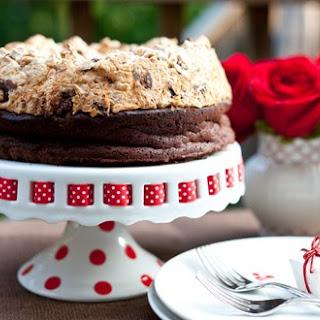 Chocolate and Hazelnut Meringue Cake.