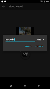Extract Audio from Video- screenshot thumbnail