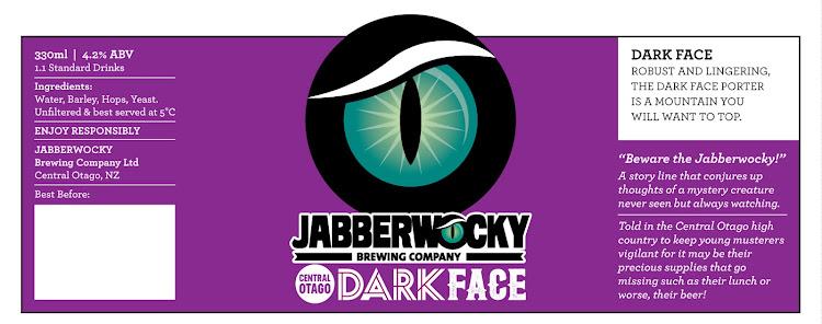 Logo of Wanaka Beerworks Jabberwocky Dark Face