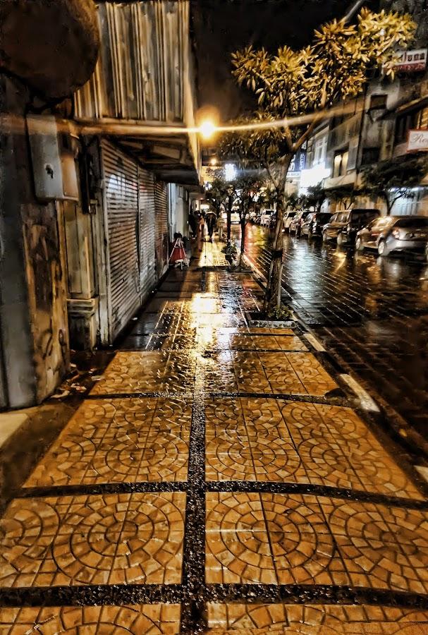 Sidewalk by Aditya Nugraha Surya - City,  Street & Park  Street Scenes ( #bandung #jawabarat #n7 )