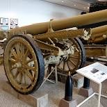 Japanese artillery in Chiyoda, Tokyo, Japan