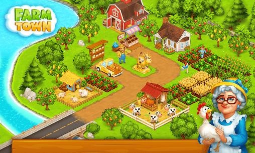 Farm Town: Happy village near small city and town 10