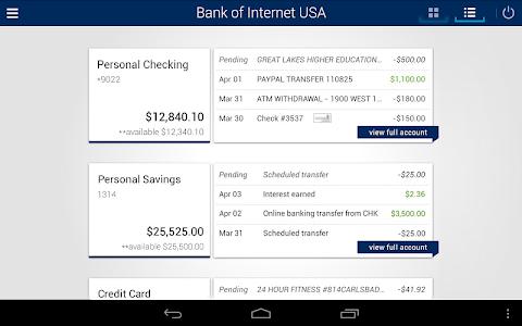 Bank of Internet Mobile App screenshot 5