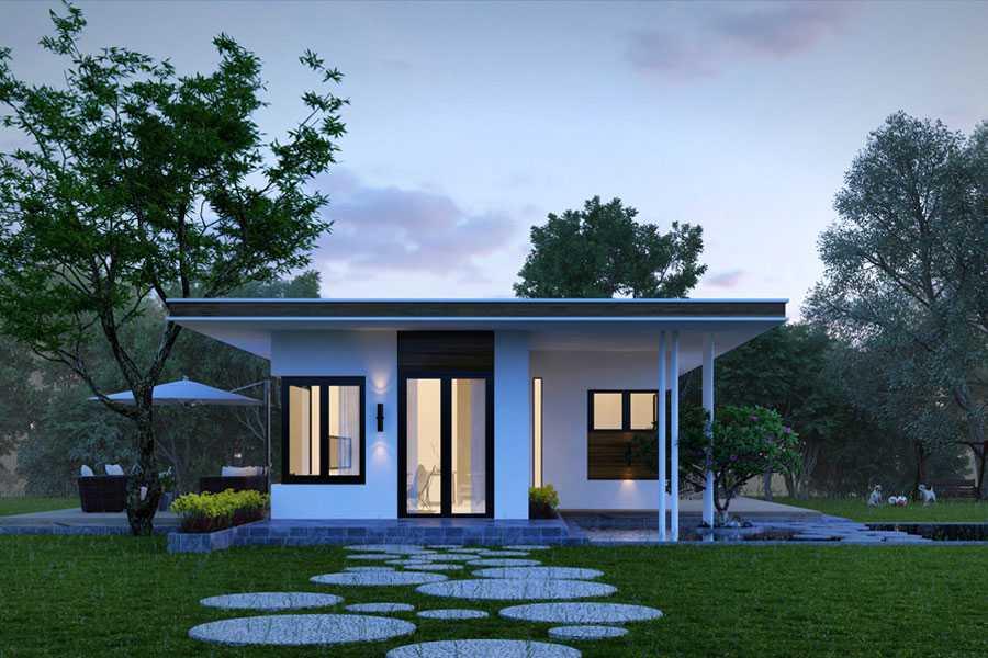 Một căn nhà trọn gói so với căn nhà xây thô tất nhiên giá xây dựng sẽ cao hơn