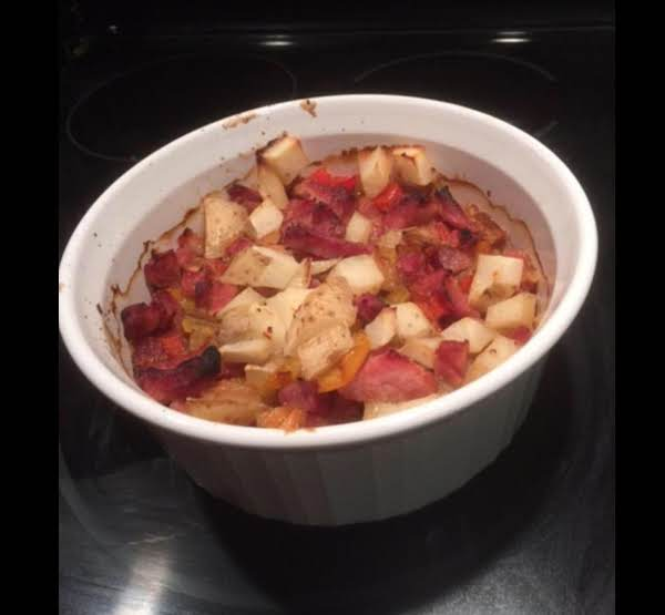 Ham & Peppers & Onions And Potatoes Recipe