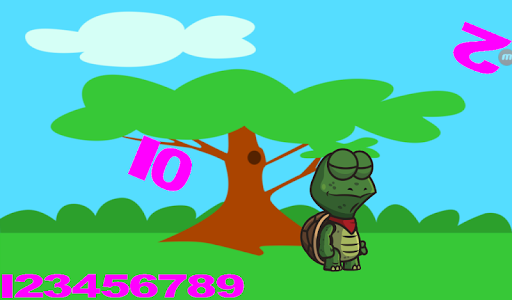PC u7528 Falling Numbers Count to 10 Action Game 2