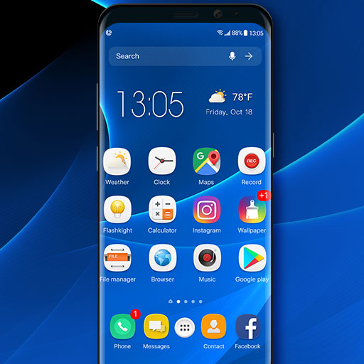 S9 launcher theme &wallpaper - Apps on Google Play