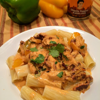 Creamy Chicken Pasta with Chipotle Sauce