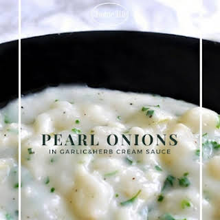 Creamed Pearl Onions.