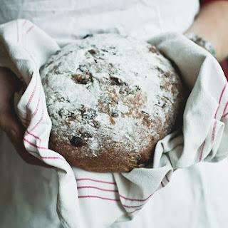 Gluten Free Christmas Raisin Bread