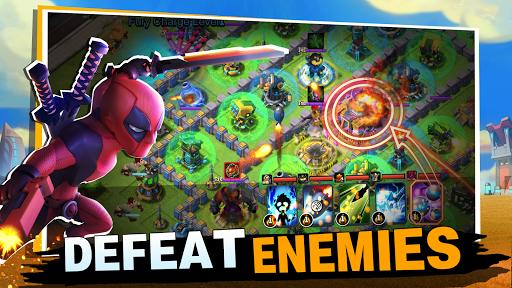 Code Triche Clash of Leagues: Heroes Rising  APK MOD (Astuce) screenshots 4