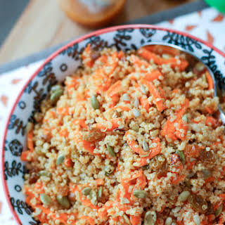 Carrot Raisin Quinoa Salad.