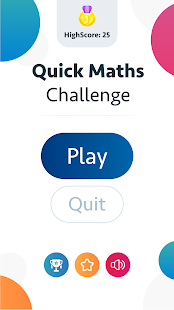Download Quick Maths Challenge For PC Windows and Mac apk screenshot 1