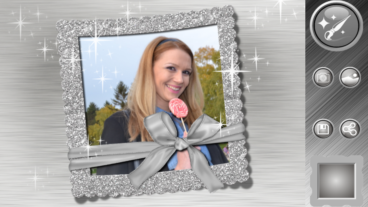 Silver photo frames editor android apps on google play silver photo frames editor screenshot jeuxipadfo Images