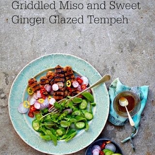 Miso and Sweet Ginger Glazed Tempeh