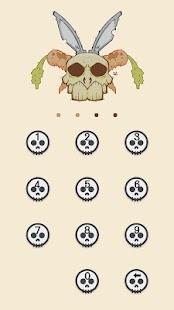 Applock Theme Skeleton 2 - náhled