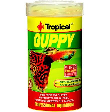 Tropical Guppy Flake