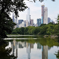 New York riflessa di