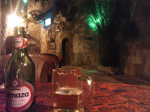 Photo: A beer in Aleppo.
