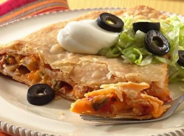 Chicken Taco Wedges Recipe