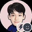 EXO CHEN Battery Widget