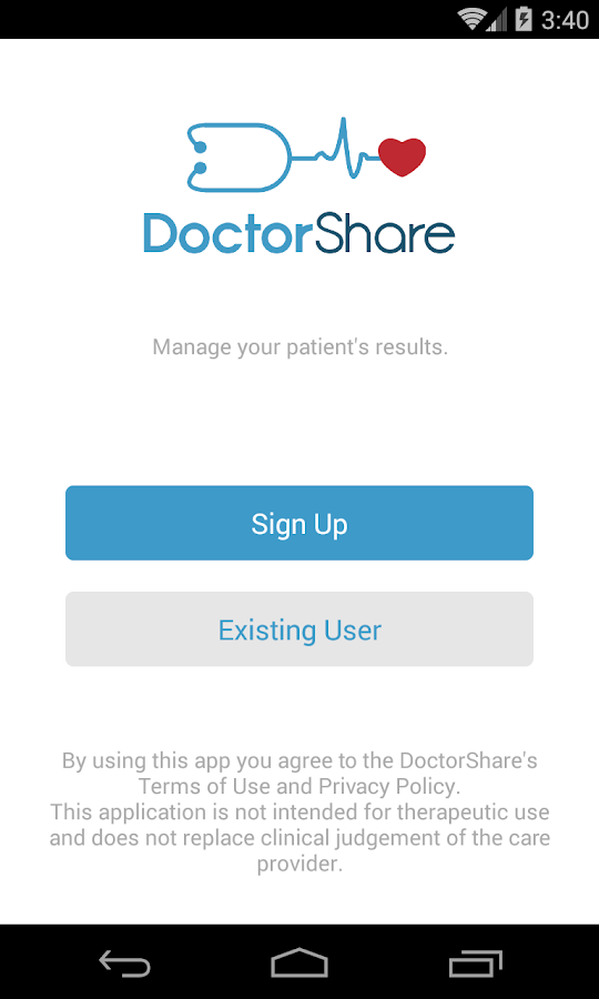 DoctorShare- screenshot