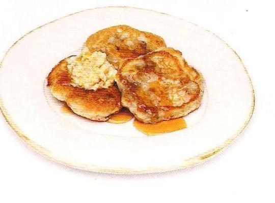 Vanilla And Banana Pancakes Recipe