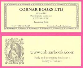 Photo: Cobnar Books