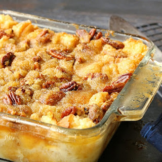 Pecan Pie Bread Pudding Recipe