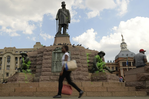 Afrikaners revere Paul Kruger as a rebel against imperialism, but for black people he is a symbol of the land grabs of the 19th century. Picture: THE TIMES