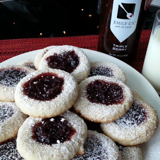 Triple-berry Almond Cookies