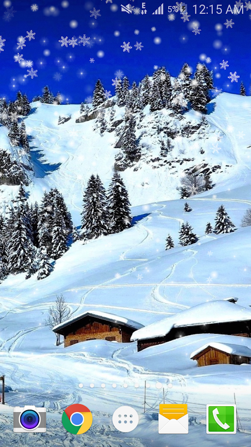 snow live wallpaper pro android apps on google play