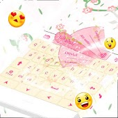 Pink Love Keyboard GO App