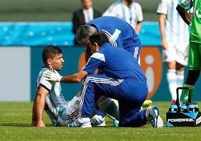 Sergio Agüero pourrait en avoir déjà fini avec son Mondial