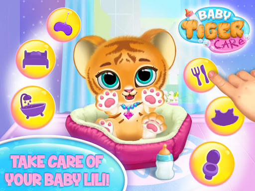 Baby Tiger Care - My Cute Virtual Pet Friend apkpoly screenshots 7