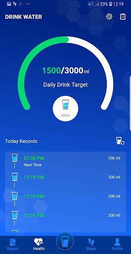 Water drink reminder screenshot 2