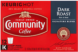 Community Rich and Bold Coffee - Dark Roast, 0.38oz, 12ct