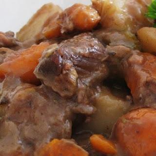 Slow Cooker Wine-Braised Beef Stew.