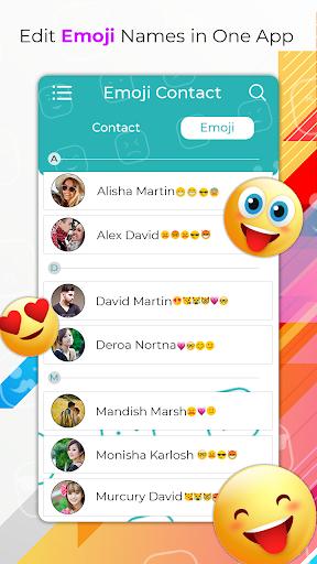 My Emoji Contact's screenshot 2