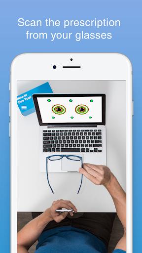 GlassesUSA.com Prescription Scanner 1.0.454 screenshots 1