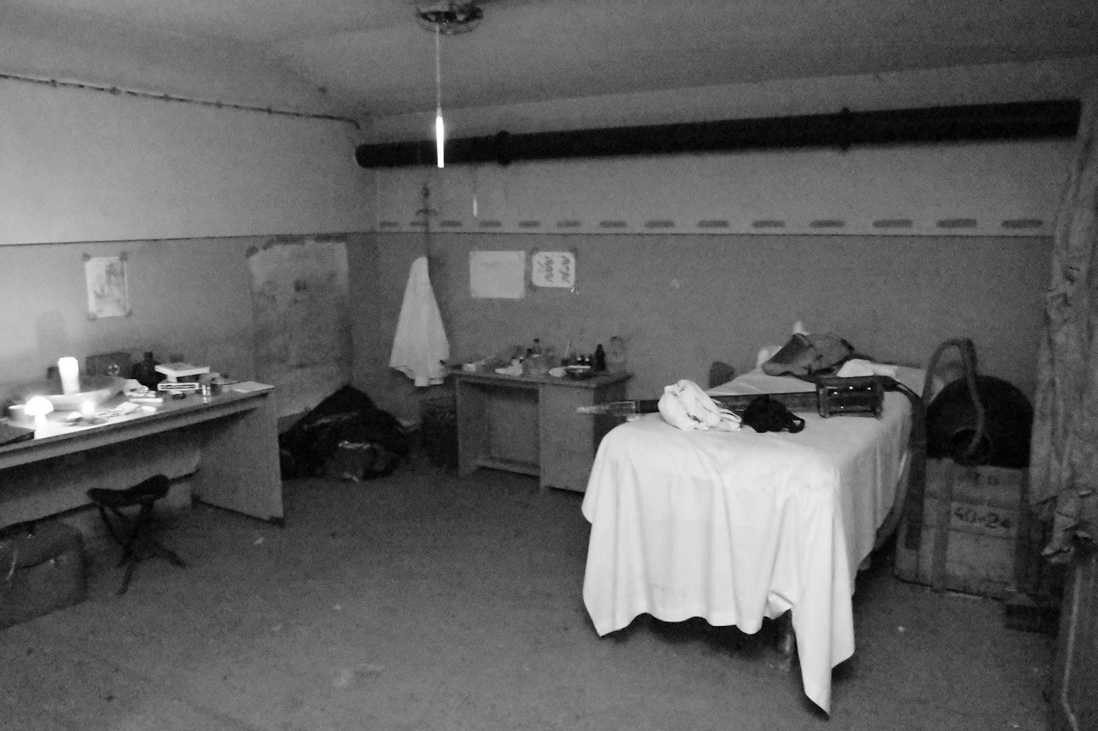Laboratorium v bunkri