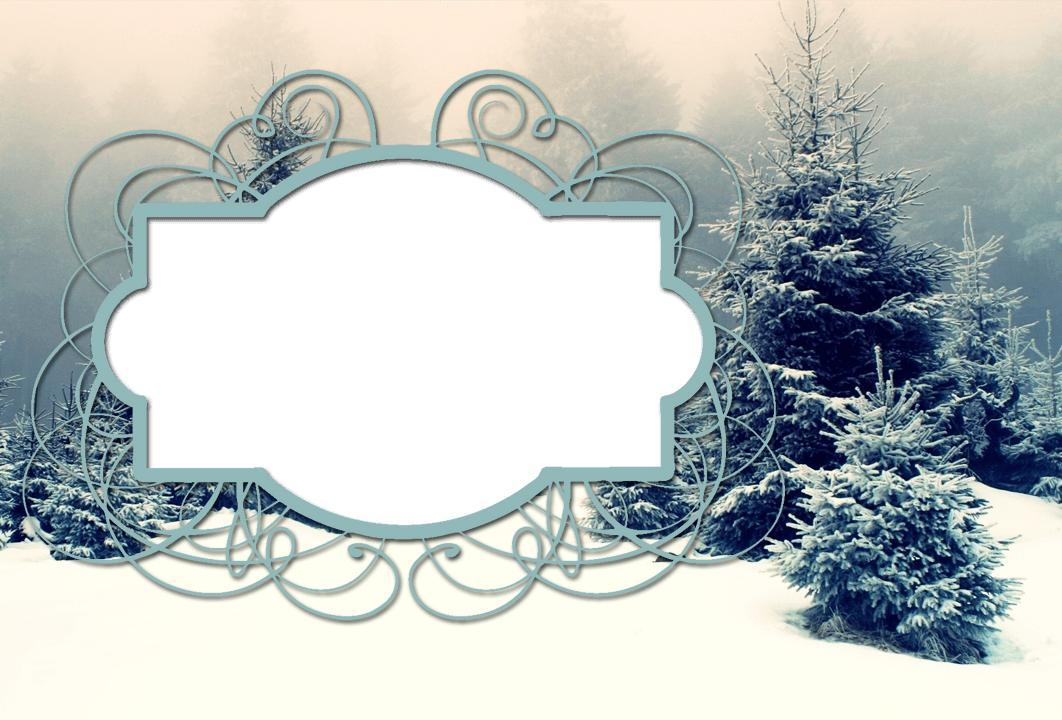 winter frames photo effects screenshot - Winter Picture Frames