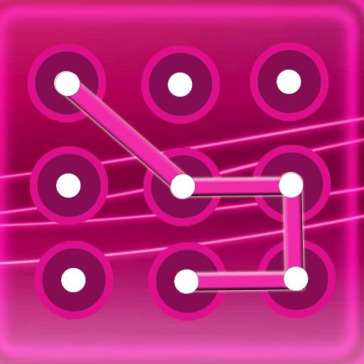 工具のピンクのパターン画面ロック LOGO-記事Game