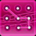 Блокировка экрана розовый узор icon